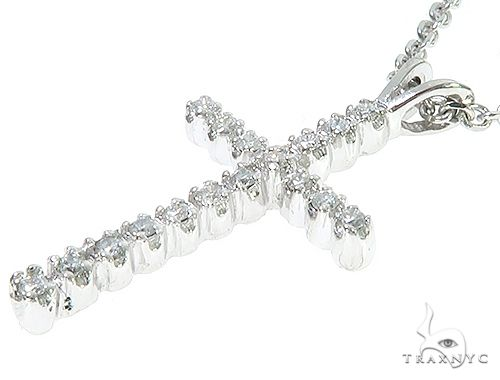 Diamond Cross Necklace Set 65315 Diamond Cross Pendants