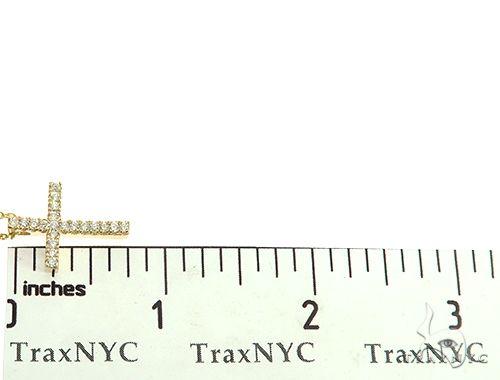 Diamond Cross Neckace Set 65878 Diamond Cross Pendants