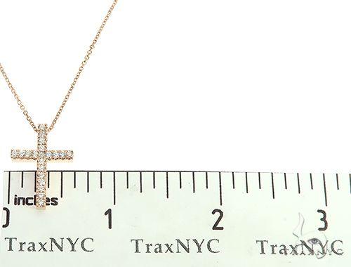Diamond Cross Neckace Set 65880 Diamond Cross Pendants