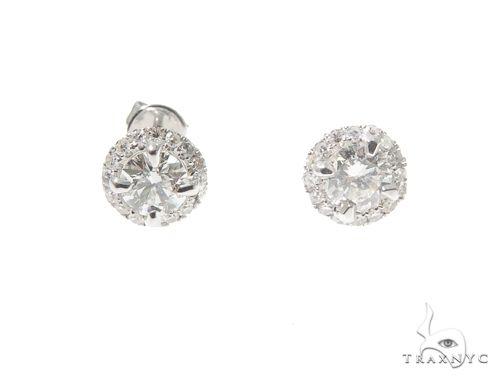 Diamond Earrings 64378 Stone
