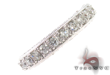 Diamond Eternity Round Cut Band Wedding