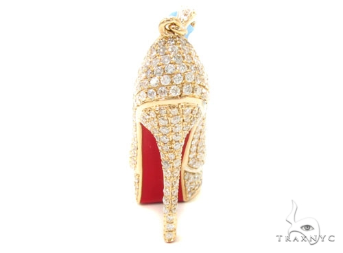 Diamond Stiletto Pendant 36473 Stone