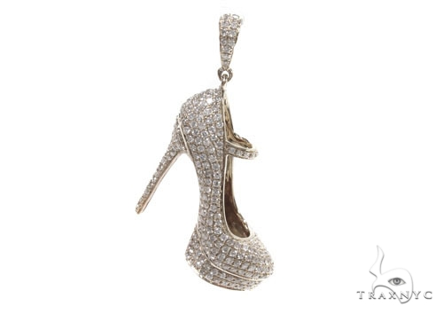 Diamond Stiletto Pendant 36474 Stone