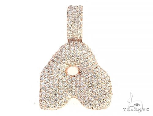 Diamond Initial Letter A Pendant 65578 Style