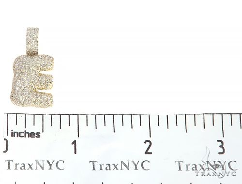 Diamond Initial Letter E Pendant 65647 Style