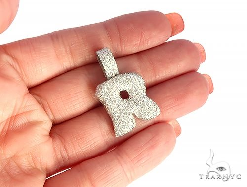 Diamond Initial Letter R Pendant 65577 Style