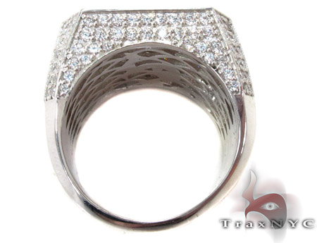 Mens Indulgence Silver Ring 40520 Metal