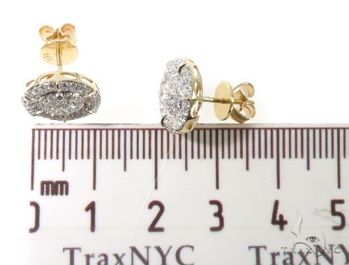 Diamond Stud Earrings 64119 Stone