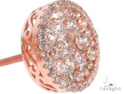 Diamond Stud Earrings Stone