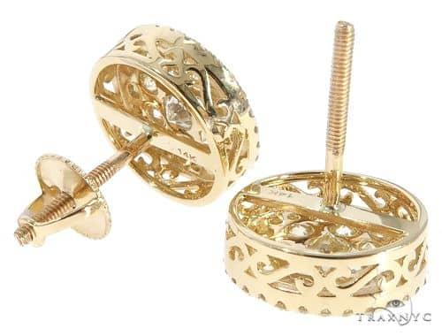 Diamond Stud Earrings 65752 Stone