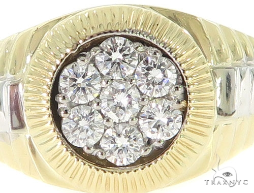 Diamond Timepiece Ring 31577 Stone