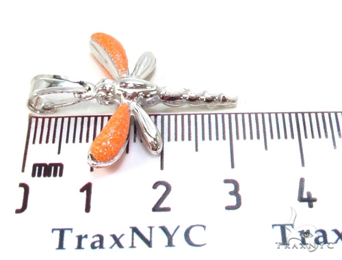 Dragonfly Silver Pendant 36364 Metal