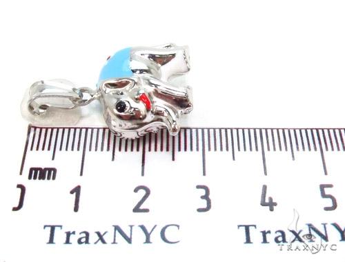 Elephant Silver Pendant 36353 Metal