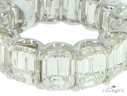 Emerald Cut Diamond Eternity Ring 65913 Wedding