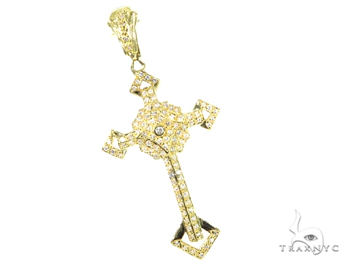 Eros Diamond Cross Crucifix 45505 Diamond