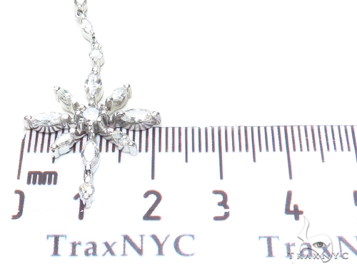 Eve Prong Diamond Chandelier Earrings & Necklace Set 43812 Diamond
