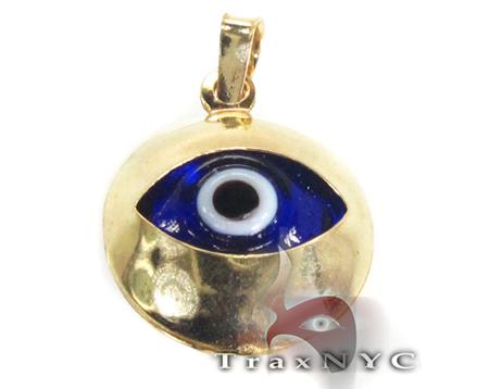 Evil Eye Charm 2 Metal