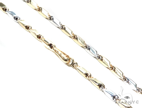 Bullet 14K Gold  28 Inches 5mm 33.7 Grams 42983 Gold
