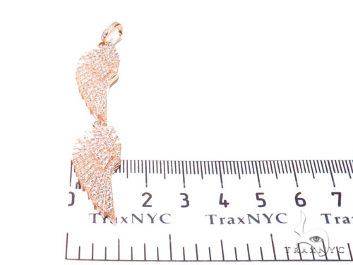 Feather Sterling Silver Charm 41147 Metal