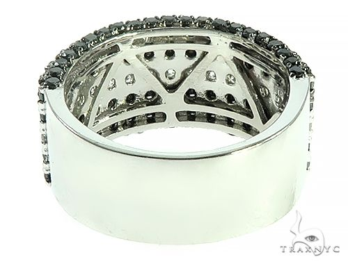 Five Row Diamond Ring 65797 Stone