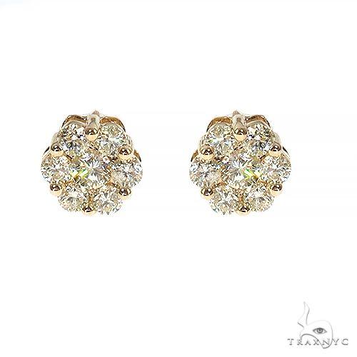 Flower Diamond Earrings 304 Stone