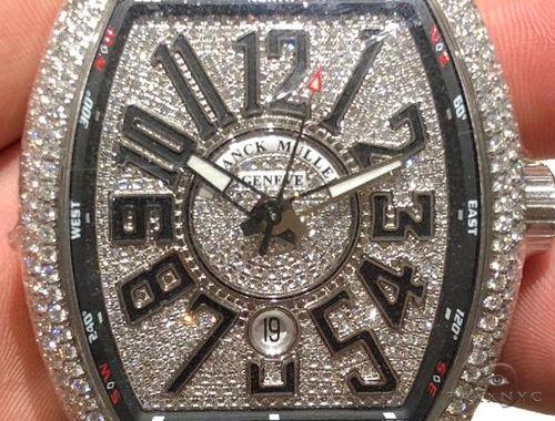 Franck Muller Vanguard Diamond Case & Dial 64714 Franck Muller