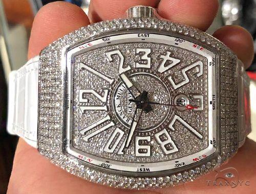 Franck Muller Vanguard Diamond Case & Dial 64715 Franck Muller
