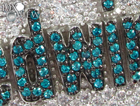 Frdwin Silver CZ Pendant Metal