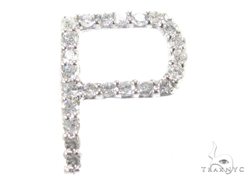 Frozen P Pendant 2 Metal