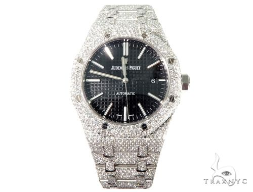 Full Diamond Royal Oak 41mm Audemars Piguet Watch 64057 Audemars Piguet Watches