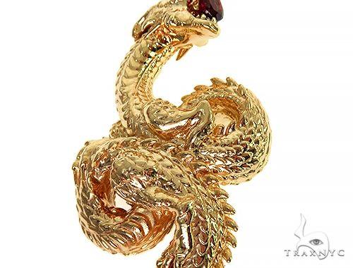 Fully 3D Dragon Pendant 66253 Metal