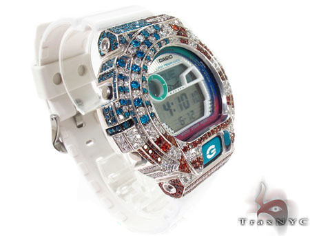 G-Shock G-Lide Classic Watch GLX6900-7 with American Flag Case 28737 G-Shock
