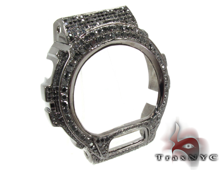 G-Shock Silver Black Diamond Case G-Shock