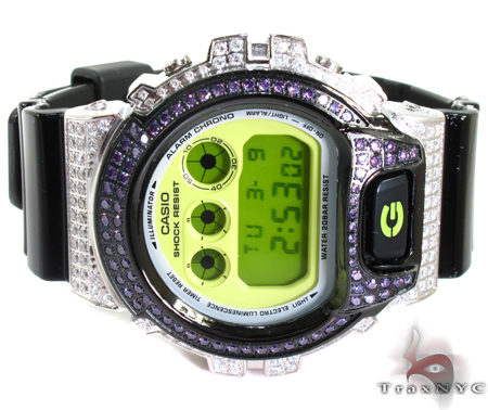 G-Shock Two Tone CZ Watch DW6900CS-1 G-Shock