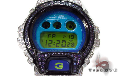 G-Shock White Color CZ Case Watch DW-6900CS 1.60 G-Shock