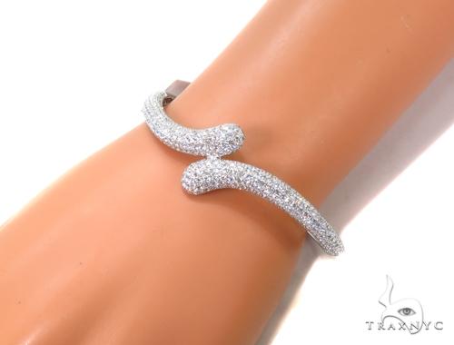 Gaia Diamond & Gold Bangle Bracelet 40681 Bangle