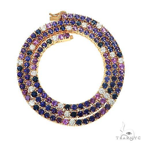 Galaxy Sapphire Tennis Chain 67152 Multicolor SAPPHIRE