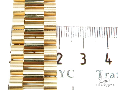 Gold Plate 7 Mens Bracelet-40122 Gold