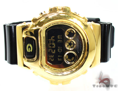 Gold Plated Casio G-Shock With Silver Case G-Shock