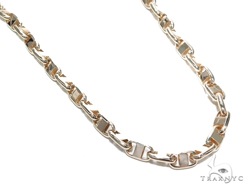 Gucci Gold Chain 36 Inches 8mm 97.4 Grams 42394 Gold