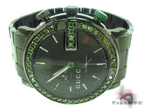 Gucci Green Diamond 101M Watch Gucci