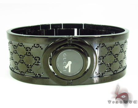 Gucci Ladies Black Watch 33243 Gucci