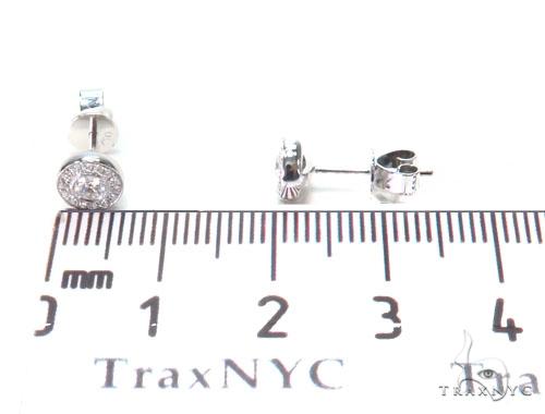 Halo Stud Diamond Earrings 44698 Style