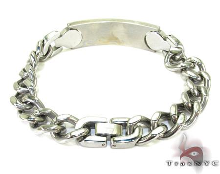 Handcuffs Diamond Bracelet 28001 Stainless Steel