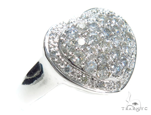 Heart Diamond Anniversary/Fashion Ring 41486 Anniversary/Fashion