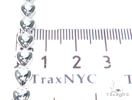 Heart Diamond Bracelet 42671 Silver & Stainless Steel