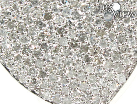 Heart Diamond Pendant Style