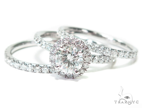 Heaven Sent Diamond Wedding Band Set Engagement