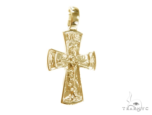 Holy Gold Cross Crucifix 43349 Gold