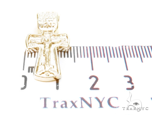 Holy Gold Cross Crucifix 43351 Gold